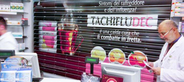 Farmacia Falqui con Iride e Tachiflu Dec