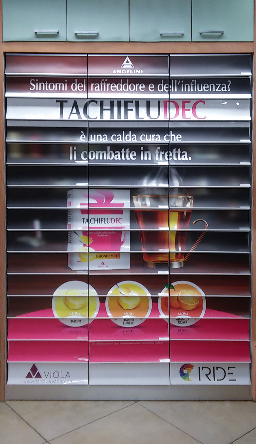 Farmacia Nicotra con Iride e Tachiflu Dec